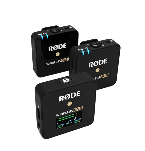 Røde Wireless GO II 2-to-1