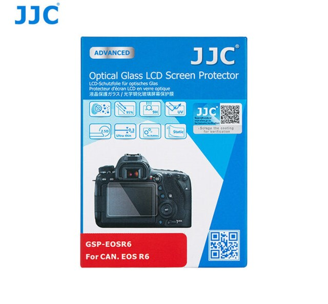 JJC LCD-Skydd Optical Glass Canon EOS R6