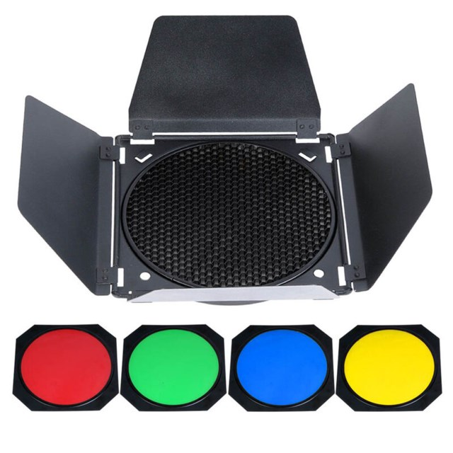 "Godox Barndoor Kit BD-04 7"" Reflector"