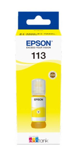 Epson EcoTank 113 Pigment Yellow 70 ml for ET-5850