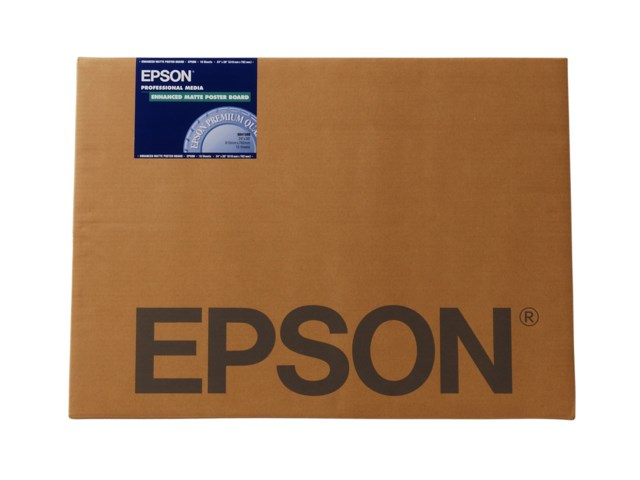 Epson Fotopapper A2 Enhanced Matte Poster Board 20blad