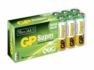 GP Batteri AA/LR6 Super Alkaline 16-pack