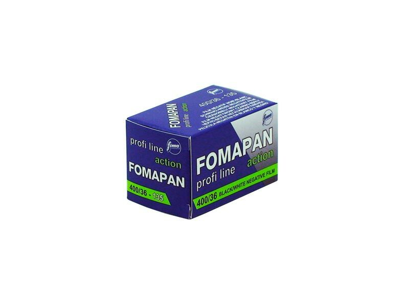 Foma Svartvit Film Fomapan 400 135-36 Action 10-pack