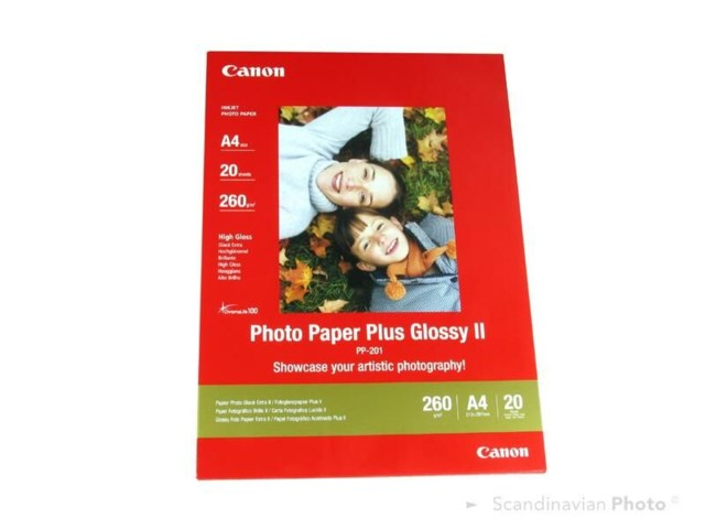 Canon PP-201 Plus Glossy II A4 275gr 20blad