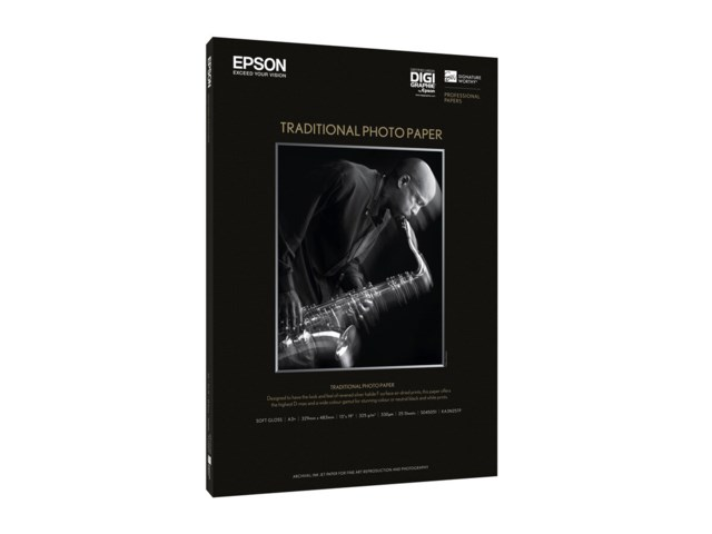 Epson Traditional Photo Paper A3+ 330gr 25blad