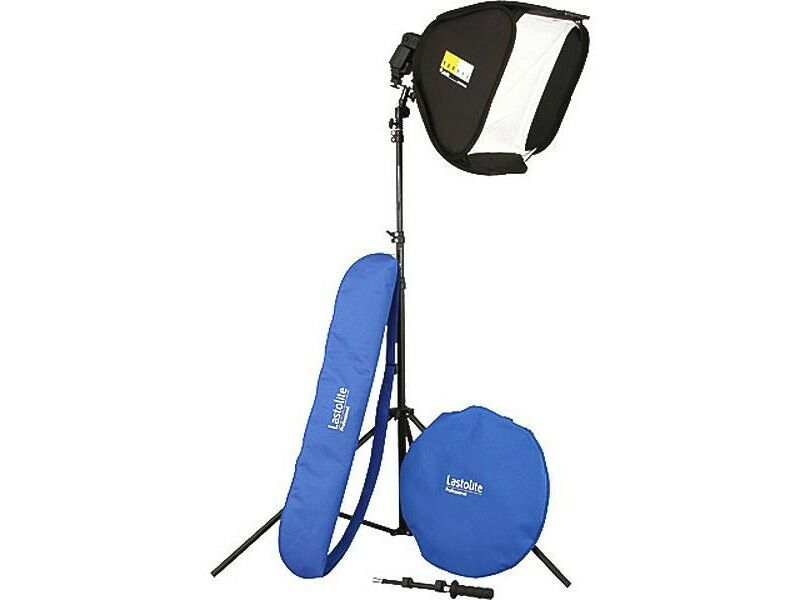 Lastolite Softbox Ezybox Hotshoe kit 38x38cm
