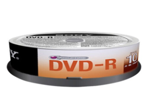 Sony DVD-R 4,7GB 16x Jewel Case 10-pack