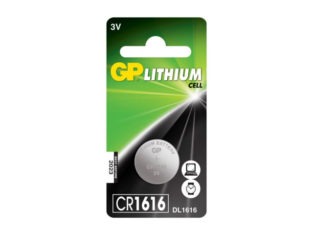 GP Batteri CR1616 3 V Lithium