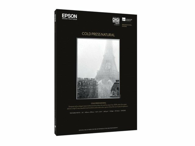 Epson Cold Press Natural A3+ 340gr 25blad