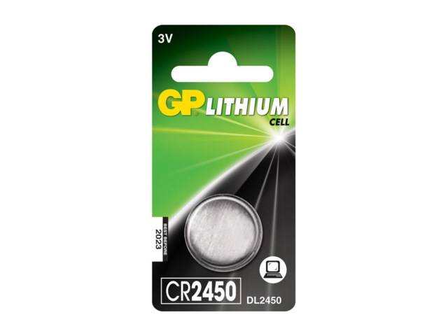 GP Batteri CR2450 3V