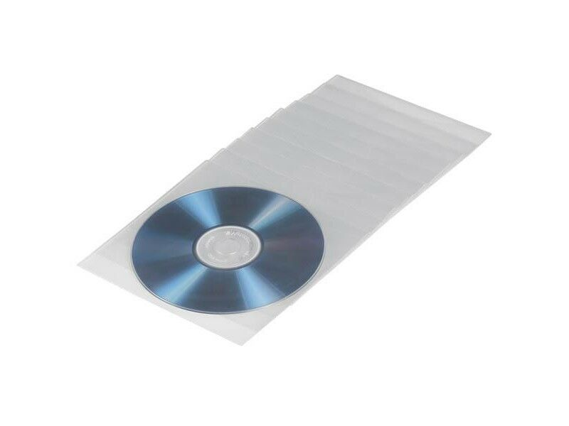 Hama CD/DVD-ficka i PP transparent 100-pack