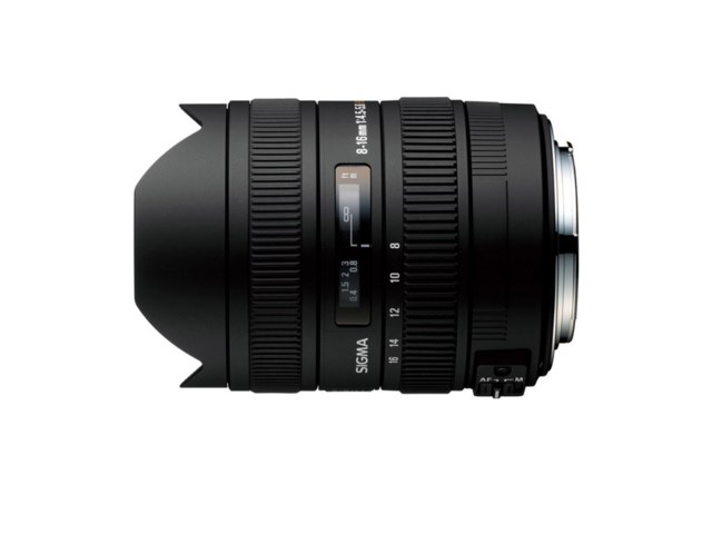 Sigma 8-16mm f/4,5-5,6 DC HSM till Canon
