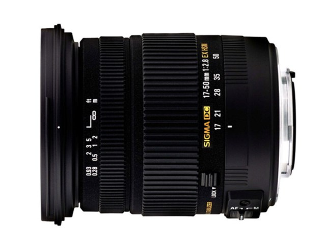 Sigma 17-50mm f/2,8 EX DC OS HSM till Canon