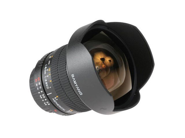 Samyang 14mm f/2,8 IF ED UMC Aspherical till Canon