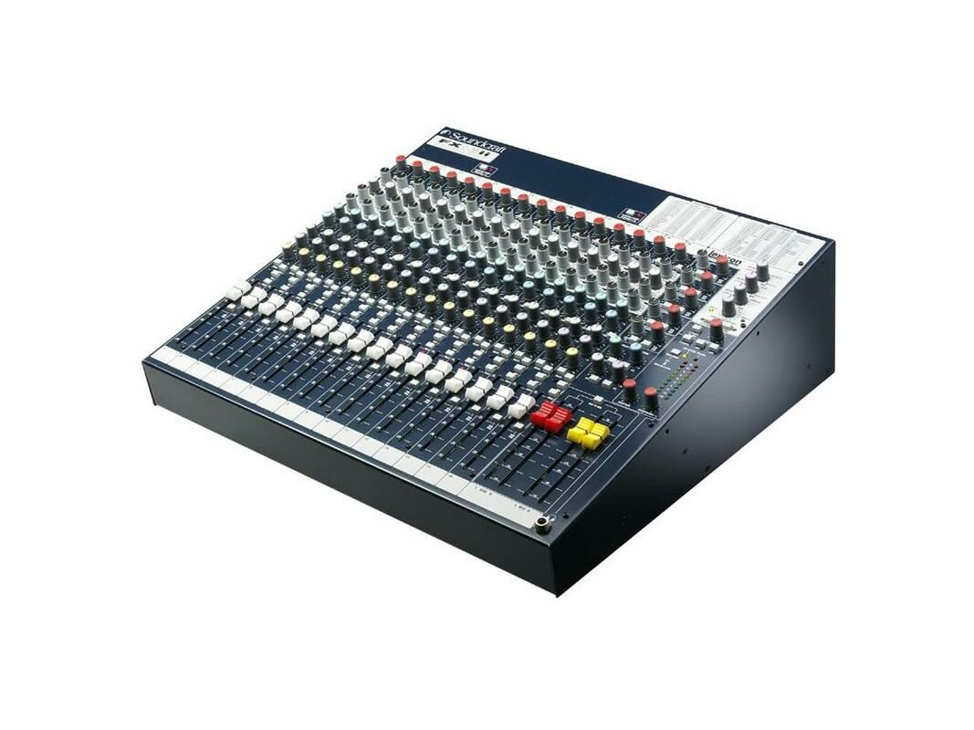 Soundcraft Ljudmixer FX16ii