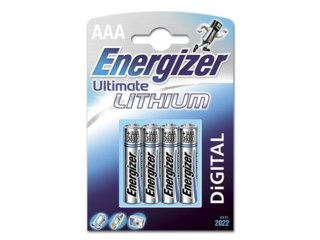 Energizer Batteri ultimate lithium AAA/LR03 4-pack