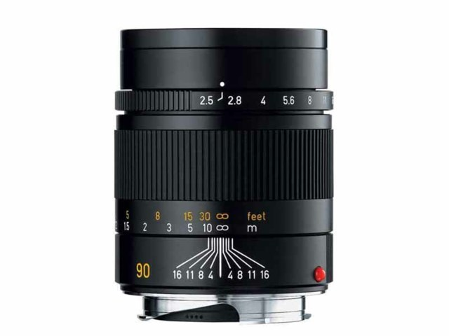 Leica Summarit-M 90mm f/2,4 svart