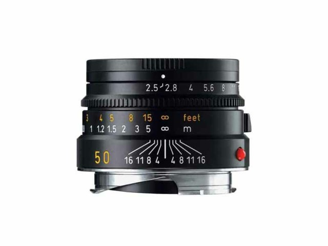 Leica Summarit-M 50mm f/2,4 svart