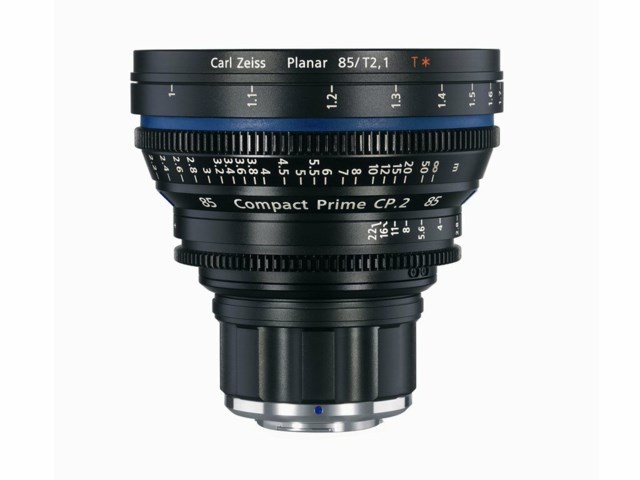 Zeiss Compact Prime CP.2 85mm T2.1 PL-mount