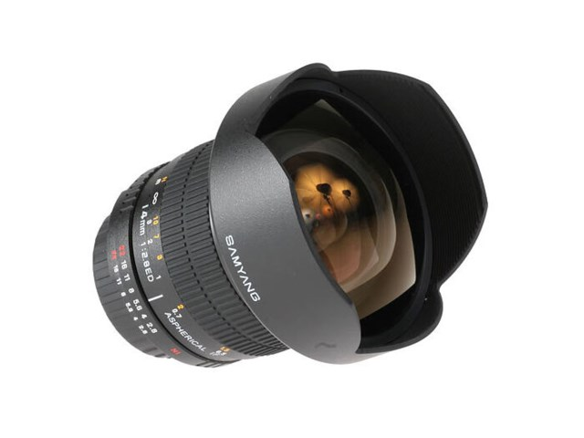 Samyang 14mm f/2,8 IF ED UMC Aspherical till Nikon (AE)