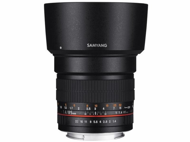 Samyang 85mm f/1,4 AS IF Aspherical till Nikon (AE)