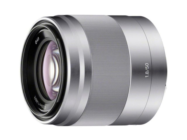 Sony E 50mm f/1,8 OSS silver