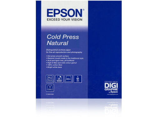 "Epson Cold Press Natural Rulle 17"" x 12,5m"