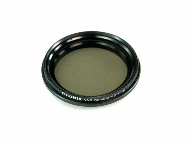 Phottix ND-filter variabelt VND 2-8 steg 58mm