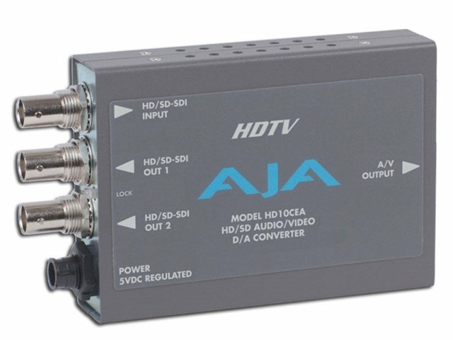 Aja HD10CEA SDI/HD-SDI till analog Audio/Video