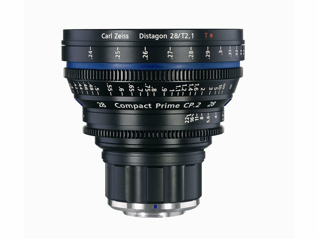 Zeiss Compact Prime CP.2 28mm T2.1 Micro 4/3-mount