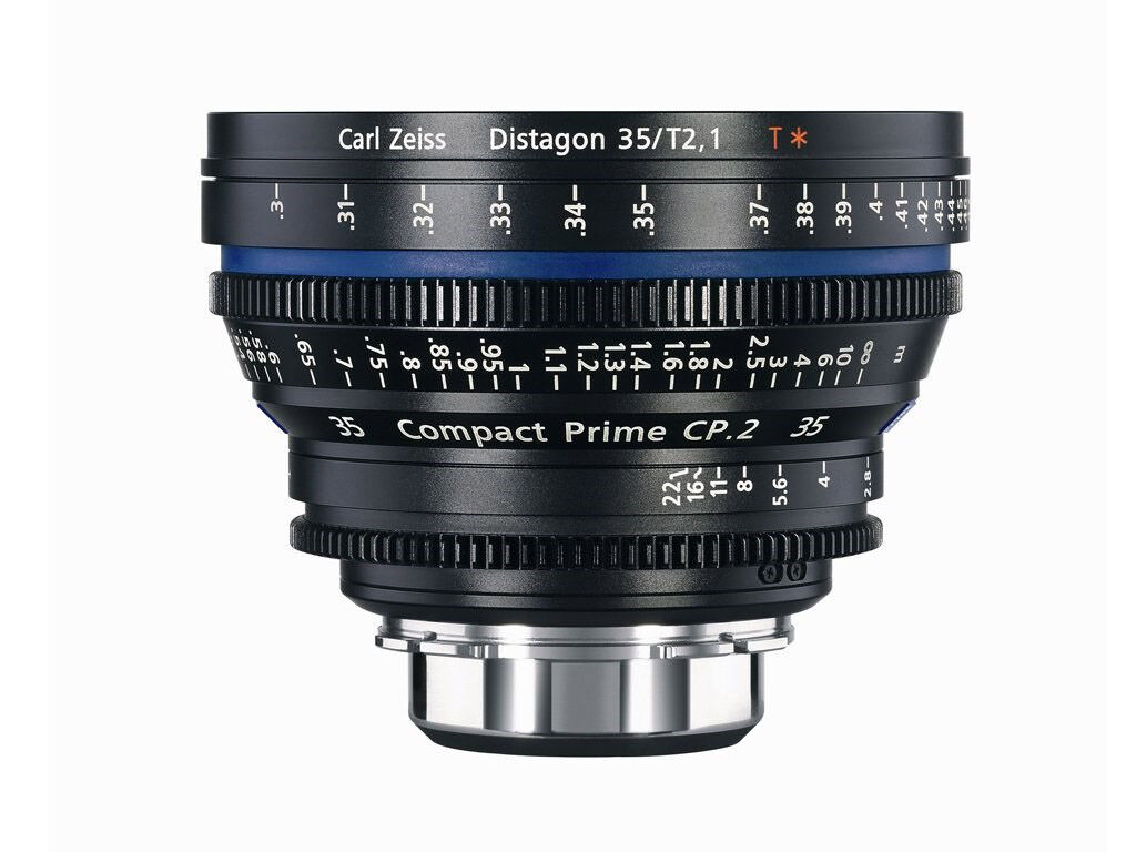 Zeiss Compact Prime CP.2 35mm T2.1 Micro 4/3-mount