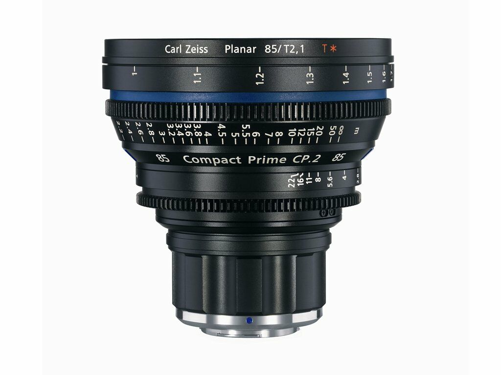 Zeiss Compact Prime CP.2 85mm T2.1 Micro 4/3-mount
