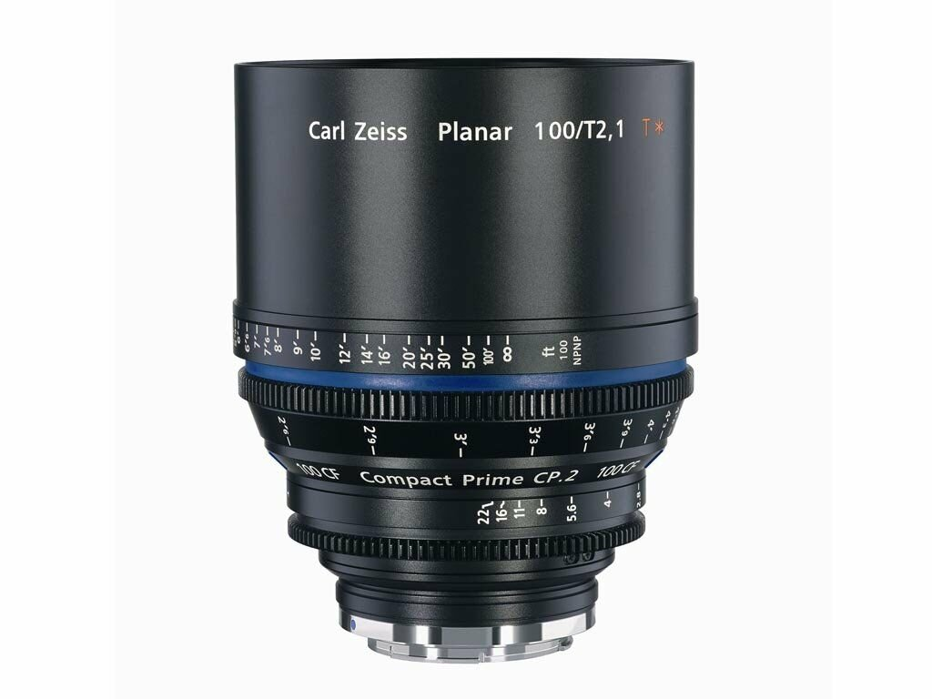 Zeiss Compact Prime CP.2 100mm T2.1 CF Micro 4/3-mount