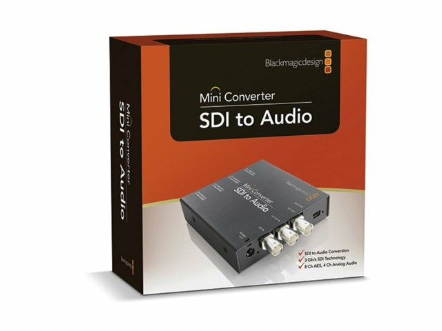 Blackmagic Design Mini Converter - SDI till Audio