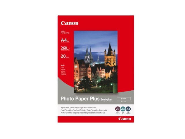 Canon SG-201 Plus Semi Gloss A4 260gr 20blad