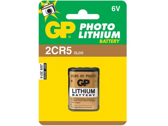GP Batteri 2CR5 lithium 6V