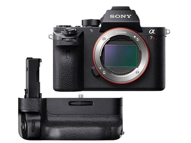 check out 4f0fd b8505 Sony A7R II kamerahus + Batterigrepp VG-C2EM